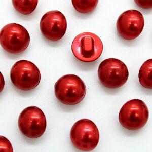 Guziki czerwony 12mm