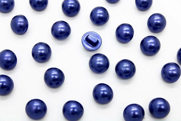 Guziki niebieski 12mm