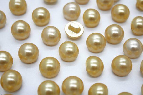 Guziki złoty 12mm