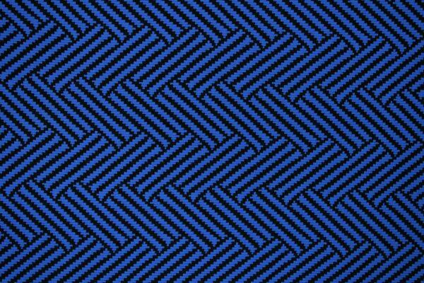 Dzianina Żakardowa Sukienkowa Na Spódnicę Geometryczny Wzór Niebieski