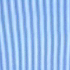 Ткань Принт Голубой Полоски