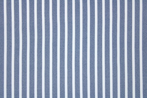 Tkanina Sukienkowa Koszulowa Bluzkowa Pasy Ciemny Jeans