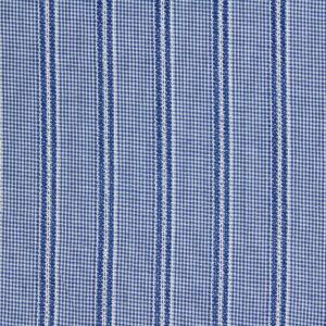Ткань Жаккард Полоска Клетка Голубой