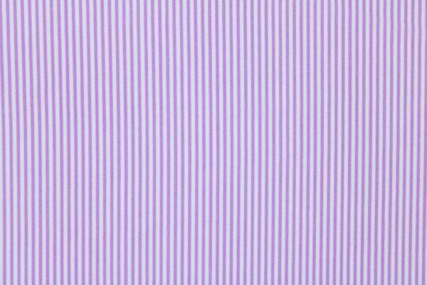 Tkanina Drukowana Bluzkowa Liliowe Paski Białe Tło