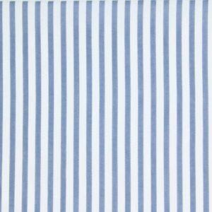 Tkanina Drukowana Bluzkowa Sukienkowa Paski Jasny Jeans