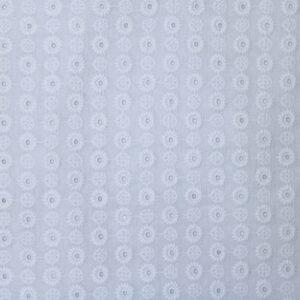 Tkanina Haftowana Sukienkowa Bluzkowa Ażur Biały