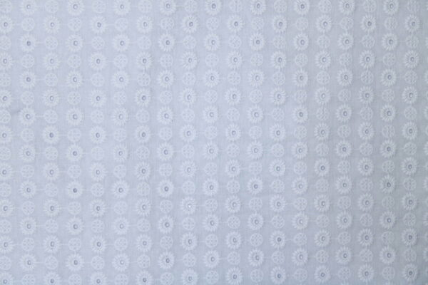 Ткань Haftowana Ażur Белый