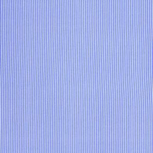 Ткань Принт Полоски Голубой