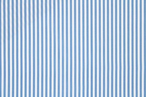 Tkanina Drukowana Bluzkowa Pasy Jeans