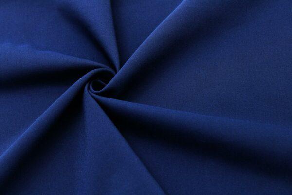 Tkanina Sukienkowa Na Spódnice Żakietowa Granatowy