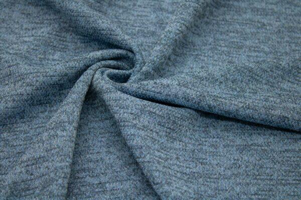 Dzianina Sukienkowa Na Spódnicę Jeans Metalic