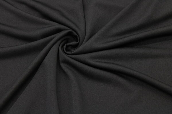Трикотаж Подкладка Чёрный