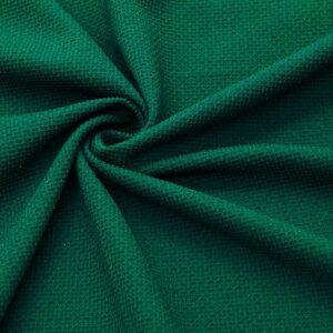 Трикотаж Вафелька Зелёный Металлик