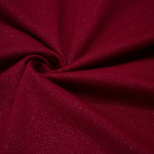 Knitted fabric Dark Red