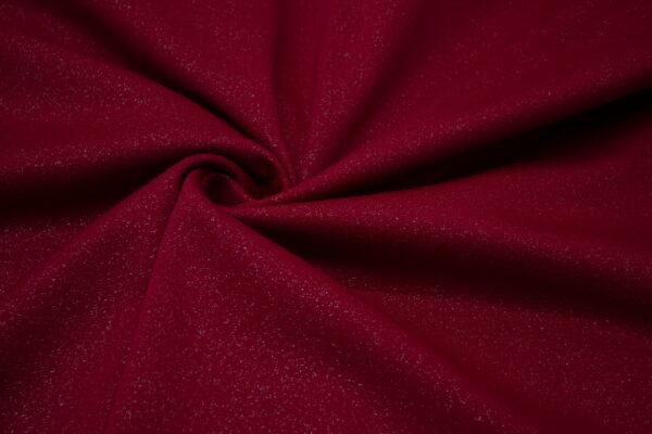 Dzianina Sukienkowa na Spódnice Spodnie Żakiet Ciemny Czerwony