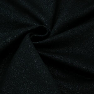 Knitted fabric Black