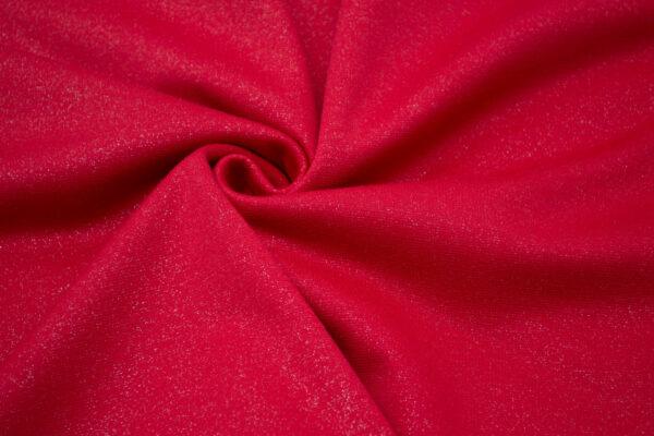 Dzianina Sukienkowa na Spódnice Spodnie Żakiet Jasny Czerwony