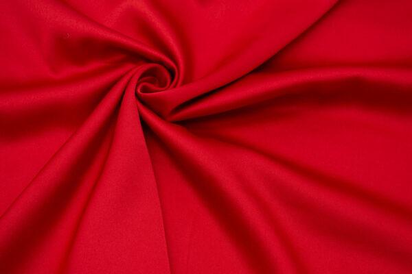 Ткань Сатин Красный