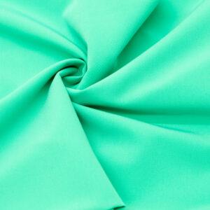 Tkanina Sukienkowa na Spódnice Szorty Uniformy Żakiet Jasno Zielony