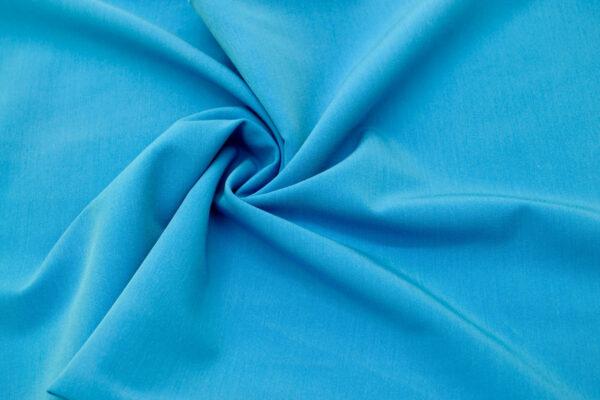 Tkanina Sukienkowa na Spódnice Szorty Uniformy Żakiet Niebieski