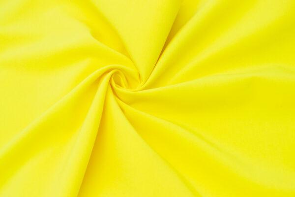 Tkanina Sukienkowa na Spódnice Szorty Uniformy Żakiet Zółty
