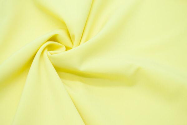 Tkanina Sukienkowa Bluzkowa Koszulowa Bananowy Żółty