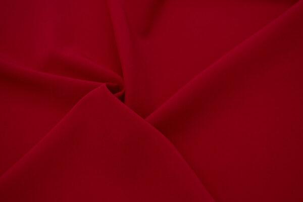 Tkanina Sukienkowa Bluzkowa Koszulowa Ciemna Czerwień