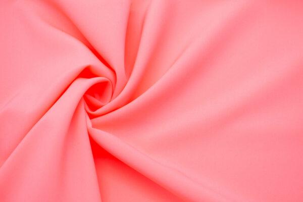 Tkanina Sukienkowa Bluzkowa Koszulowa Neonowy Jasny Róż