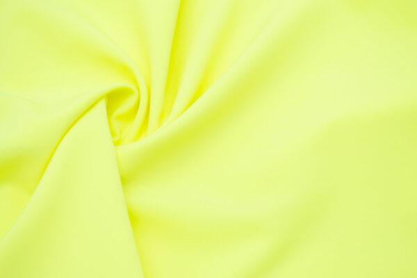 Tkanina Sukienkowa Bluzkowa Koszulowa Neonowy Żółty