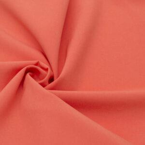 Tkanina Sukienkowa Bluzkowa Koszulowa Pastelowy Pomarańcz
