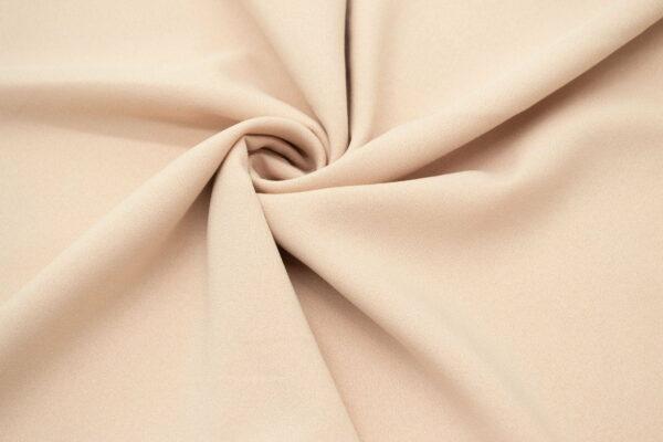 Tkanina Sukienkowa Bluzkowa Beż