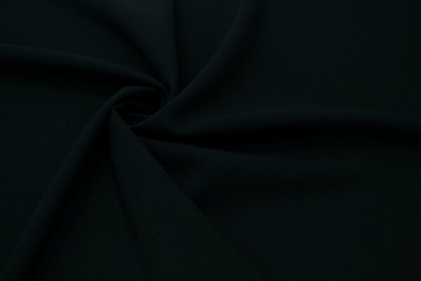 Tkanina Sukienkowa Bluzkowa Czarna