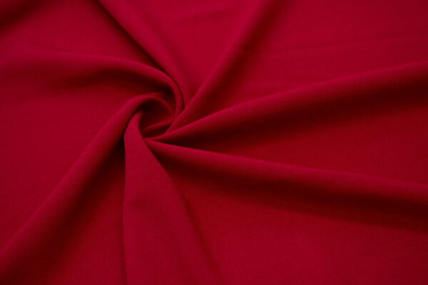 Tkanina Sukienkowa Bluzkowa Czerwona