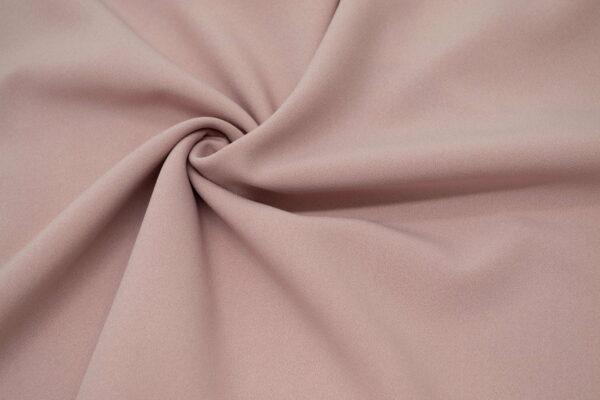 Tkanina Sukienkowa Bluzkowa Pudrowy Róż