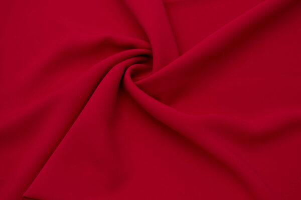 Tkanina Sukienkowa Bluzkowa Koszulowa Czerwony