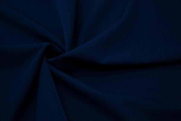 Tkanina Sukienkowa Bluzkowa Koszulowa na Spódnice Granat