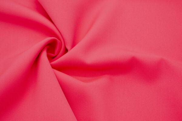 Tkanina Sukienkowa Garniturowa na Spódnice Neonowy Koral