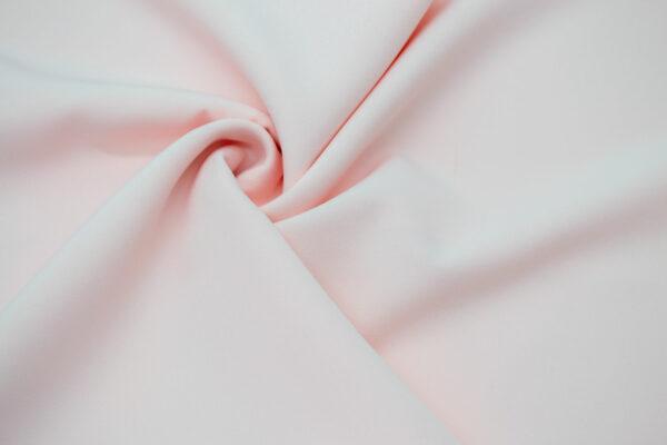 Tkanina Sukienkowa Garniturowa na Spódnice Pudrowy Róż