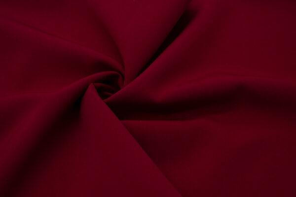 Tkanina Sukienkowa Garniturowa na Spódnice Ciemny Czerwony