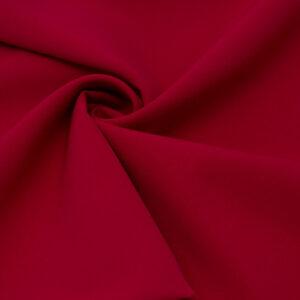 Tkanina Sukienkowa Garniturowa na Spódnice Ciepły Czerwony