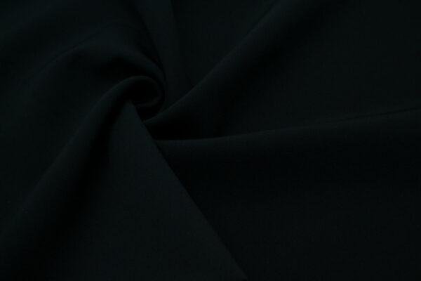 Tkanina Sukienkowa Garniturowa na Spódnice Czarny