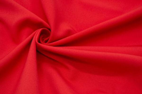 Tkanina Sukienkowa Garniturowa na Spódnice Czerwony