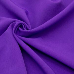 Tkanina Sukienkowa Garniturowa na Spódnice Fiolet