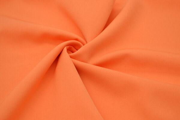 Tkanina Sukienkowa Garniturowa na Spódnice Jasny Pomarańczowy