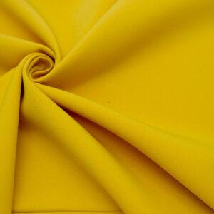 Tkanina Sukienkowa Garniturowa na Spódnice Musztarda