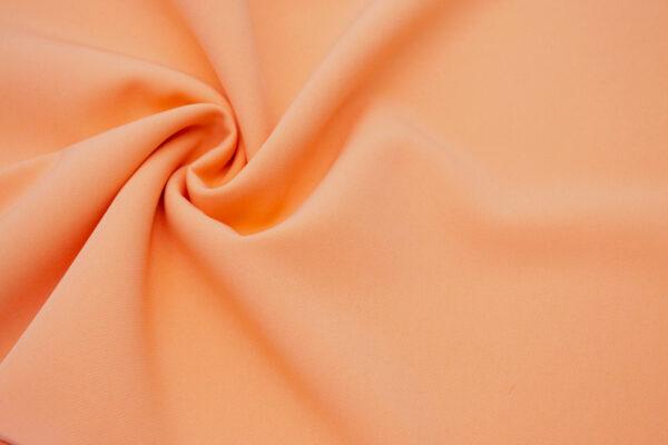 Tkanina Sukienkowa Garniturowa na Spódnice Pastelowa Brzoskwinia