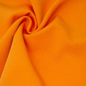 Tkanina Sukienkowa Garniturowa na Spódnice Pomarańczowy