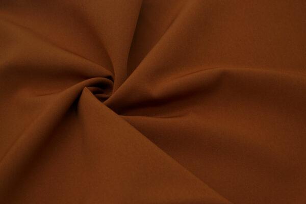 Tkanina Sukienkowa Garniturowa na Spódnice Rdzawy