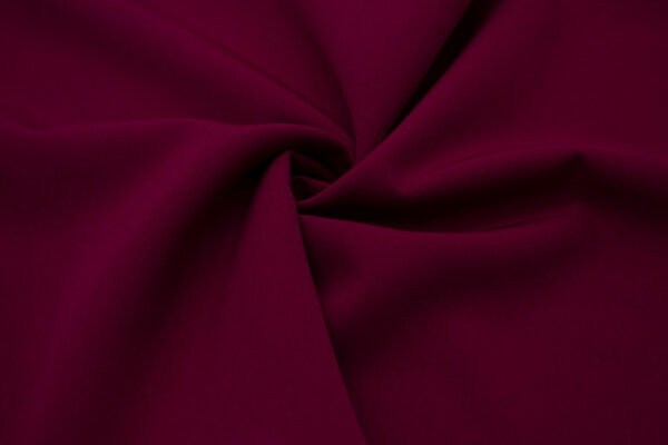 Tkanina Sukienkowa Garniturowa na Spódnice Wino