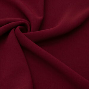 Tkanina Sukienkowa na Kombinezon Spódnice Koszule Bordo